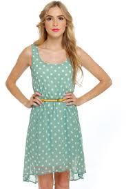 darling light blue dress polka dot dress 43 00