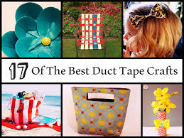 of the best duct tape crafts