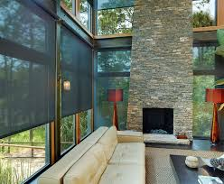 solar shades for living room contemporary with solar window shades