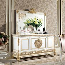 yb62 2 luxury french style gold leaf dining room furniture baroque