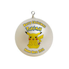 pokemon christmas ornament custom gift 8