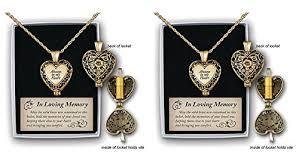 in loving memory lockets cathedral always in my heart memorial urn