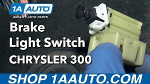2012 ram 1500 brake light switch how to install replace brake light switch 2005 07 chrysler 300 buy