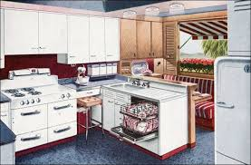 Retro Kitchen Design 1947 Vintage Kitchens Retro Kitchen Design Of The 1940s Mid