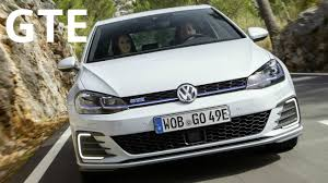 vw considers making an electric 2017 volkswagen golf gte plug in hybrid 1 4 tsi 204 ps youtube