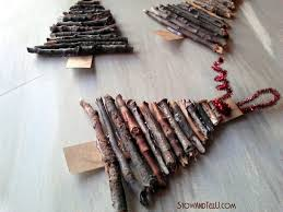 Natural Christmas Decorations Do You Have A Reluctant Crafter Who Likes To Play With Sticks