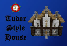 tudor style house minecraft project