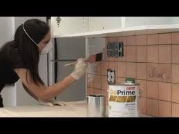 how to paint kitchen tile backsplash how to paint the kitchen backsplash with sico http