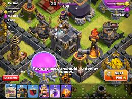 Clash Of Clans Maps Clash Of Clans Clan Castle Stats Levels U0026 Strategies