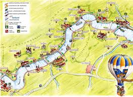Passau Germany Map by Germany Austria Along The Danube 2004