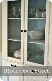 Kitchen Hutch Ideas Best 25 Distressed Hutch Ideas On Pinterest Antique Hutch