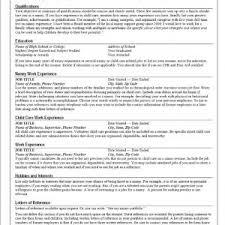 nanny resume exles fresh nanny resumes exles 13 template resume exle