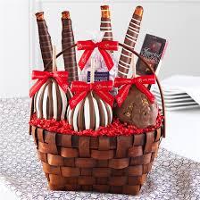 picnic gift basket classic caramel apple gift basket mrs prindables gourmet