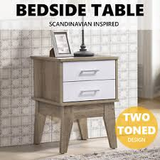 side table 2 drawers nobu bedside table 2 drawers nightstand end side modern scandinavian