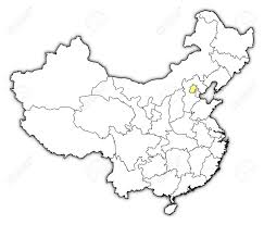 Map Of Beijing China by Political Map Of China With The Several Provinces Where Beijing