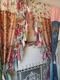 Bohemian Drapes Curtains Ideas Burgundy Curtain Tie Backs Inspiring Pictures