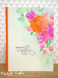 Mother S Day Greeting Card Handmade Handmade By Michelle Mother U0027s Day Cards