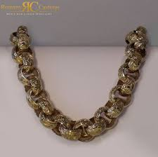 chunky link necklace images Traditional extra chunky men s 22 inch 22 mm link belcher chain jpg