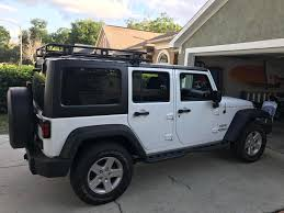 jeep liberty 2012 interior smittybilt 45454 defender roof rack for 07 17 wrangler quadratec