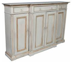 sold out white painted sideboard with gold detail 7 269 est