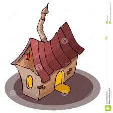 small cartoon house stock images image 32716294