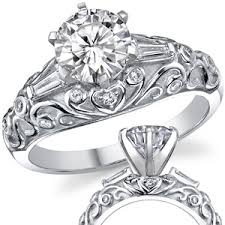 vintage engagement ring settings only antique engagement ring for your unforgettable moment