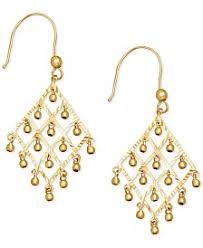 Tory Burch Beaded Chandelier Earring Chandelier Earrings Macy U0027s