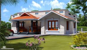 one floor house single floor home design kerala home building plans 74198