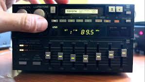 toyota car stereo toyota matsushita 2 din 80 s car stereo