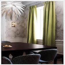green wallpaper room dining room wainscoting design ideas