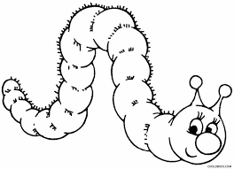 caterpillar coloring pages toddlers coloring