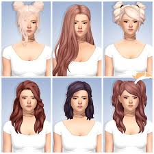 child bob haircut sims 4 176 best sims 4 cc adult teen female hair images on pinterest