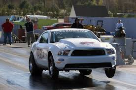 fastest ford video tasca resets cobra jet world record with 7 848 sec 1 4 mile