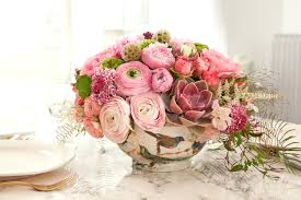 flower centerpieces flower arrangements for dinner table u2013 anikkhan me