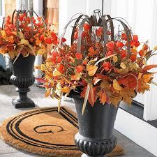 fall home decor autumn lantern urn filler