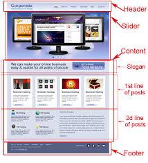 css tutorial layout template convert business psd template to html css tutorial part 1