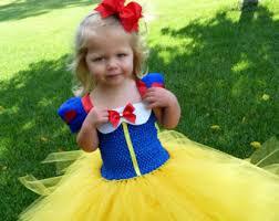 Snow White Halloween Costume Toddler Beautiful Snow White Tutu Dress Costume Red Hair Bow