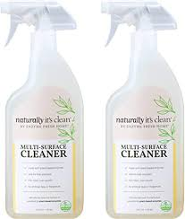 how to clean wood kitchen cabinets naturally naturally it s clean multi surface cleaner spray enzymes clean stains from bathroom kitchen countertop floor wood furniture cabinet