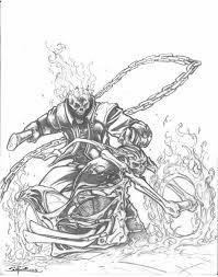 ghost rider by sajad126 on deviantart