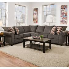 Albany Sectional Sofa Simmons 1647 Sectional Sofa Albany Pewter Home Furnishings