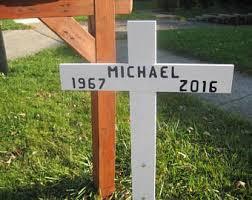memorial crosses for roadside roadside memorial etsy