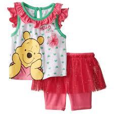Winnie The Pooh Sofa Winnie The Pooh Baby Girls Tank U0026 Shorts Set