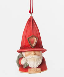 fireman gnome ornament of collection