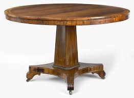 Antique Round Dining Table Antique Tables English Regency Rosewood Antique Center Table