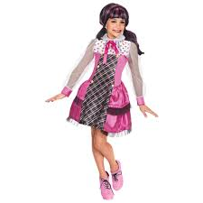 All Monster High Halloween Costumes Girls Draculaura Monster High Halloween Costume Walmart Com