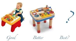 Best Activity Table For Babies by Good Questions Baby Activity Tables Apartment Therapy