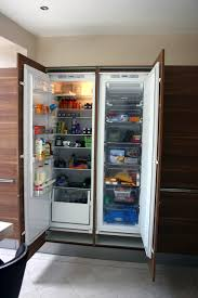 kitchen impressive built in and integrated refrigerator on