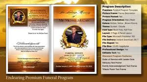 printable funeral programs endearing funeral program obituary