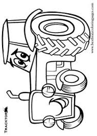 tractor coloring pages bestofcoloring