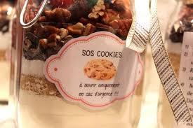 cadeau noel cuisine sos cookies cadeau gourmand fait maison pour ceux qui aiment